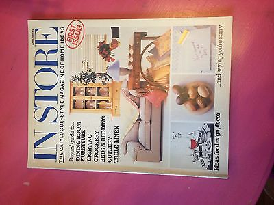 In Store magazine vintage edition April 1985