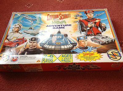 Captain Scarlet And The Mysterons Adventure Board Game