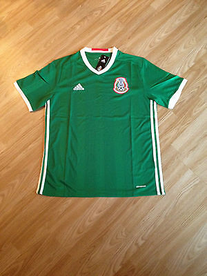MEXICO Home Shirt 2016/17 Soccer Jersey size M.