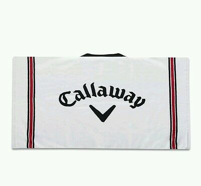 "Callaway Cotton Tour Golf Towel. Large. 30"" X 20"" **brand New**"