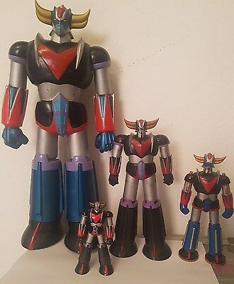 Goldrake lotto 4 Ufo Robot Grendizer Goldorak Marmit Atlantic Mini Metal
