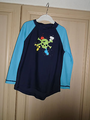 boys sunprotection swimming top age 4/5 years by zoggs