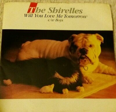 "The Shirelles ""Will you love me tomorrow"" 7 ' single  1988"