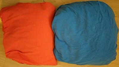 ikea jeresey fitted sheets for toddler bed x 2