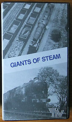 GIANTS OF STEAM; Transport in Vision Video - VHS video tape - STEAM RAIL