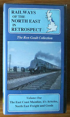 RAILWAYS of the NORTH EAST IN RETROSPECT Vol. 1 - VHS video tape - STEAM RAIL