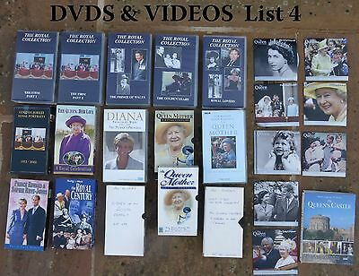 Royalty DVD/Video collection