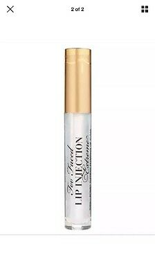 Too Faced Lip Injection EXTREME Plumping Lip Gloss - Full Size - NIB