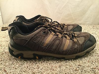 Men's Eddie Bauer Brown Outdoor Hiking Walking Trail Sport Shoes sz 10.5