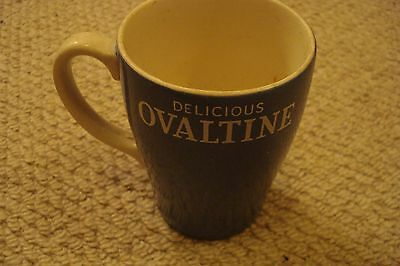 Ovaltine Mug - Blue -  Collectable And Vintage
