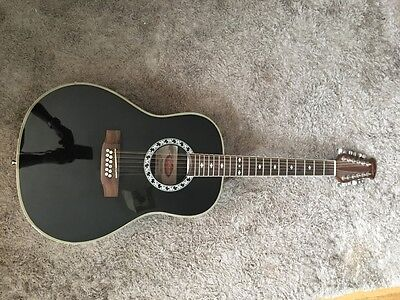 Stagg 12 string semi-acoustic guitar