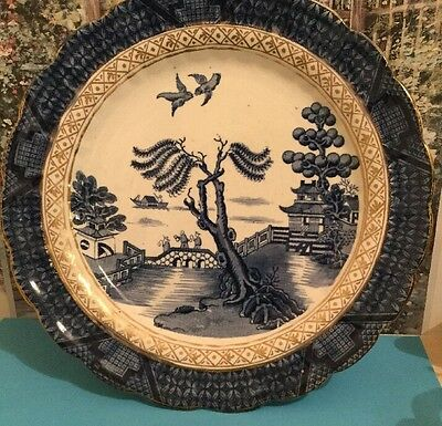 Booths Real Old Willow Plate 1906- 1921