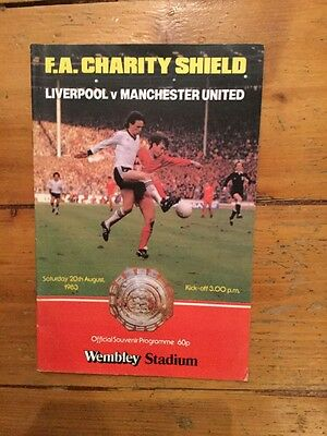 Liverpool v Manchester United - Charity Shield 1983
