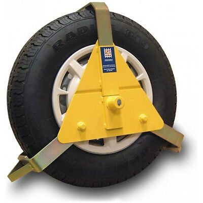 Stronghold Heavy Duty Steel Wheel Clamp, 10 - 14 Inches