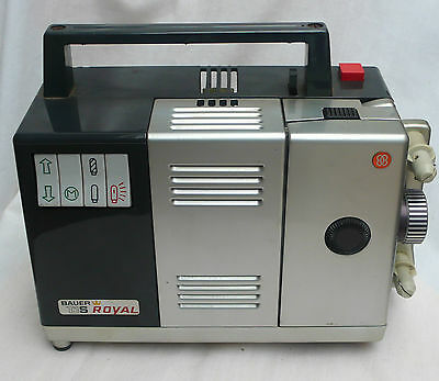 Vintage Retro BAUER T1 S Royal Film Projector with Hard Case