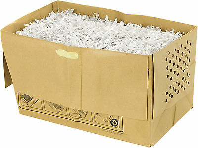 Swingline Stack and Shred Recyclable Paper Bags 7 bags 100x shredder