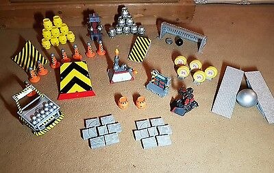 Robot Wars Robot Accessory Bundle Ramps Targets And Firing Cannons Plus Refbot