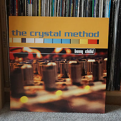 The Crystal Method - Busy Child 12""