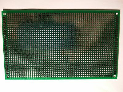 Double Side Prototype PCB Board Tinned Universal FR4 9x15cm
