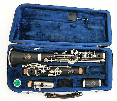 Henri Selmer Paris K-Serie Albert System Bb Clarinet Low Pitch Complete Restored