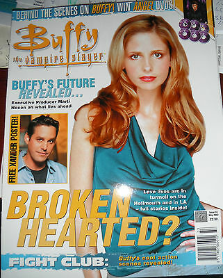 Buffy The Vampire Slayer Magazine Issue 33 Never Been Read