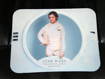 RARE NeverUsed STAR WARS ESB PRINCESS LEIA CARRIE FISHER Hoth Computer Mouse Pad
