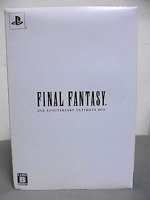 SQUARE ENIX  Final Fantasy 25th Anniversary Ultimate Box PS PS2 PSP PS3 Game