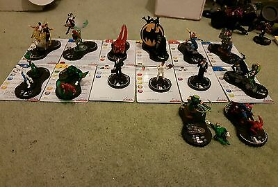 14 Super Rare Limited Edition DC HeroClix Brave and the Bold Set Figures
