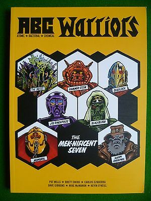 ABC Warriors The Meknificent Seven Graphic Novel January 2009 Comic Book 2000 AD
