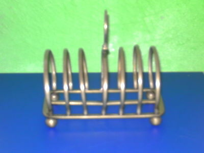 Metal Vintage Toast / Letter Rack---   Arched