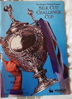 challenge cup final 1988  halifax v wigan