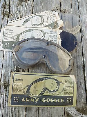 WW2 Model US Army Dust Goggles Willys MB Dodge WC M1 Helmet Airborne M38 M38A1