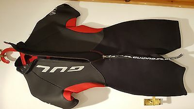 Ladies Gul shortie wetsuit size 14, black/red, very good condition