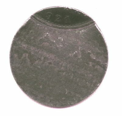 Germany 1921-A 90% Off Struck 1 Pfennig Copper Better Then Scan Shows Per Scan