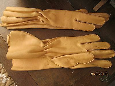 Re-enactment Costume - Leather Gloves
