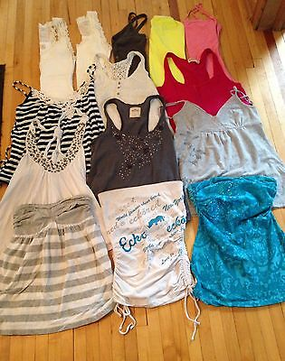 Lot of Small Tops - Hollister, Vixen, AE, Ecko, & More