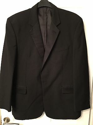 Men's Two Piece Tuxedo Jacket And Trousers. MOSS BROS. Excellent Condition.