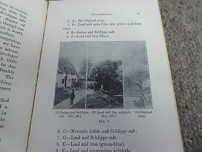 Illustrated  118 Year Old  Bk On Photography Tips