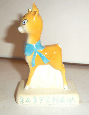 Rare Advertising Original Carltonware Babycham Deer / Fawn