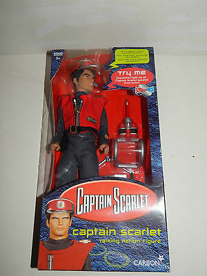 """Captain Scarlet 12""""  Talking Action Figure - Soundtech - New In Box"""