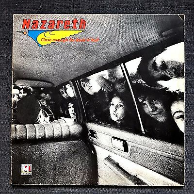 NAZARETH ~ CLOSE ENOUGH FOR ROCK 'N' ROLL USED LP VINYL RECORD VG VG 1st PRESS