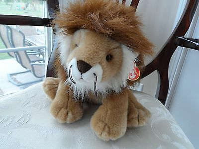 "Ty Classic Plush Regent the Lion 13"" NWT  #70013 Super Soft Cute"
