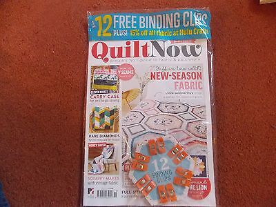 Quilt now magazine issue 19 unopened plus free gift