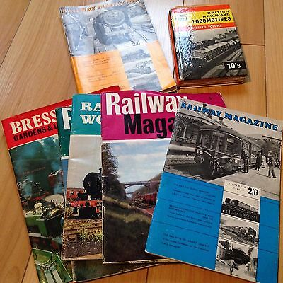 Several Issues Of Vintage Railway Magazine