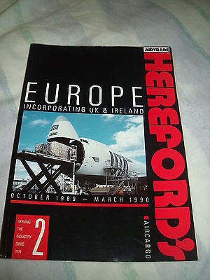 Herefords European Air Cargo Directory 1989 #