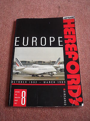 Herefords European Air Cargo Directory 1992 #