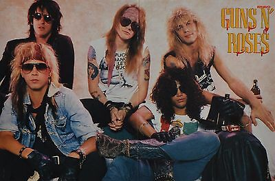 GUNS N´ ROSES - A3 Poster (ca. 42 x 28 cm) - Band Clippings Fan Sammlung NEU