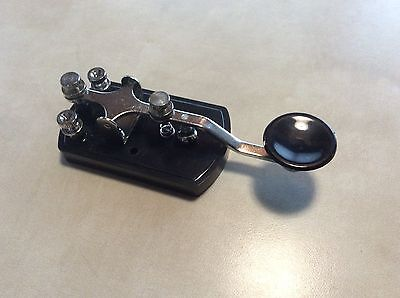 Telegraph Key -Genereic CW Morse Code Straight Key - New