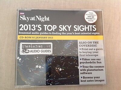 BBC Sky at Night magazine CD-ROM 92 January 2013 - 2013's Top Sky Sights & more
