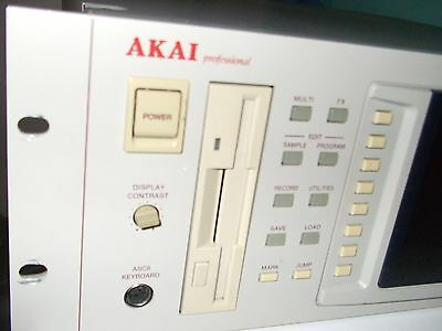 Akai S5000 V2 Sampler with onboard USB Board & 72Mb Memory. 64note Polyphony